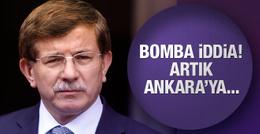 Davutoğlu şimdi ne yapacak? Artık Ankara'ya...