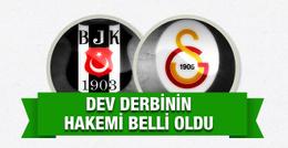 Galatasaray Beşiktaş derbisinin hakemi belli oldu