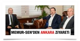 Memur Sen'den Süleyman Soylu'ya ziyaret
