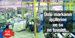'Penti işçilerine su ve tuvalet bile yok' iddiası