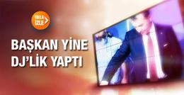 Beşiktaş Başkanı Fikret Orman yine DJ'lik yaptı