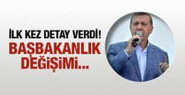 Erdoğan'dan flaş kongre yorumu! Başbakanlık değişimi...