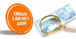 Yeni emekliye 3 bin 900 TL maaş!