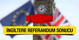 İngiltere referandum sonuçları