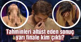 Survivor 2016 Kıbrıs yarı finalisti kim oldu kim elendi?