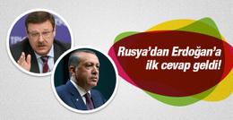 Rusya'dan Erdoğan'ın mektubuna ilk cevap!