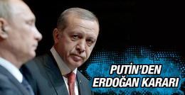 Erdoğan Rusya Devlet Başkanı Putin ile görüşecek!