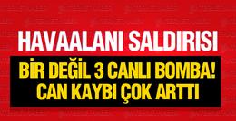 Son dakika! Atatürk Havalimanı'nda patlama