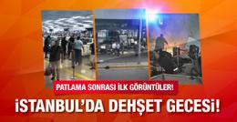 Atatürk Havalimanı'nda patlama ilk görüntüler!