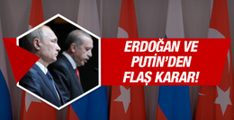 Erdoğan-Putin görüşmesi 7 ay sonra bir ilk!