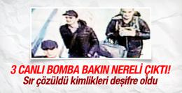 43 kişiyi öldüren 3 canlı bomba bakın nereli çıktı!
