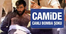 Adana'da camide canlı bomba şoku! İzdiham çıktı...