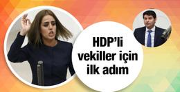 Beklenen oldu HDP'li vekiller gitmedi!
