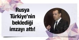Türkiye-Rusya ilişkilerini düzeltecek imza atıldı!