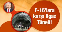 Binali Yıldırım, F-16'ya karşı Ilgaz Tüneli'ne sığınmış!