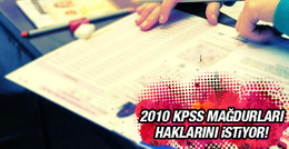 KPSS mağdurları sorumlular cezalandırılsın diyor!
