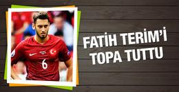 Milli futbolcudan Fatih Terim'e ağır eleştiri