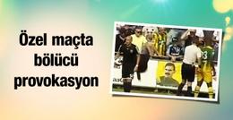 Karabükspor maçında PKK provokasyonu