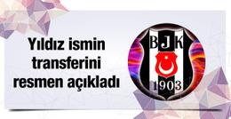 Beşiktaş yıldız ismin transferini resmen açıkladı