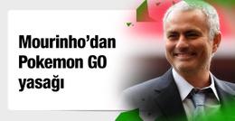 Mourinho oyuncularına Pokemon Go'yu yasakladı