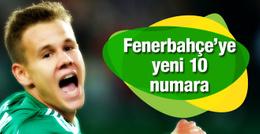 Fenerbahçe'ye yeni 10 numara!
