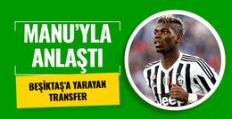 Beşiktaş'ı sevindiren Manchester United transferi