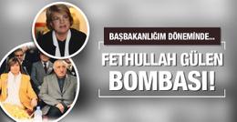 Tansu Çiller'den Gülen bombası: Başbakanlığım döneminde...