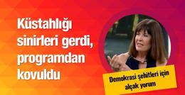 Nurşen Mazıcı'nın alçak sözleri Tekdağ'ı kızdırdı
