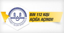 Diyanet'te bin 112 personel görevden uzaklaştırıldı