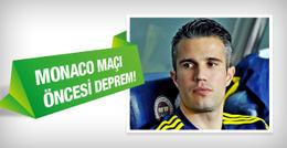 Fenerbahçe'de Robin van Persie depremi!