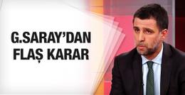 Galatasaray'dan FETÖ'cü Hakan Şükür için flaş karar!