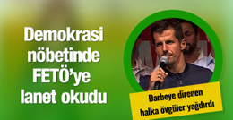 Emre Belözoğlu FETÖ'ye lanet okudu