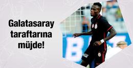 Galatasaray'a Bruma müjdesi