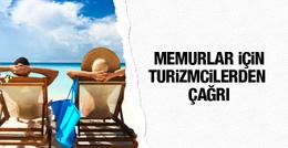 Memur izni için turizmcilerden çağrı