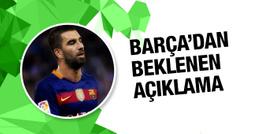 Barcelona'dan resmi Arda Turan kararı