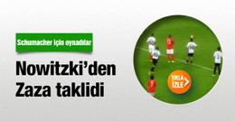 Dirk Nowitzki'den Simone Zaza penaltısı