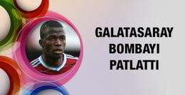 Galatasaray Valencia bombasını patlattı