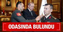 Erdoğan'ın Başyaveri Yazıcı'nın odasında bulundu