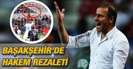 Başakşehir Rijeka maçında skandal karar!