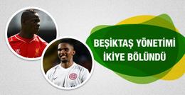 Beşiktaş camiası ikiye bölündü! Eto'o mu Balotelli mi?