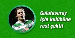 Johansen Galatasaray için kulübüne rest çekti