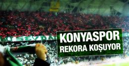 Konyaspor kombinede rekora koşuyor