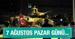 Erdoğan tarih verdi 7 Ağustos Pazar günü...