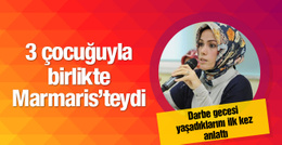 Erdoğan'ın kızı Esra Albayrak darbe gecesini anlattı