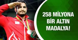 258 milyona bir madalya!