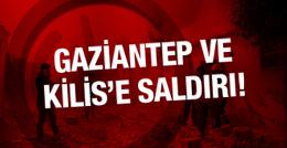 Kilis ve Gaziantep'ten son haber Suriye'ten roket atıldı!