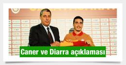 Galatasaray'dan Diarra ve Caner Erkin açıklaması