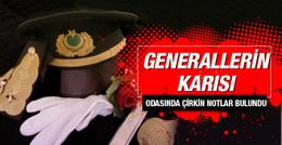 Generallerin karısı hakkında çirkin notlar
