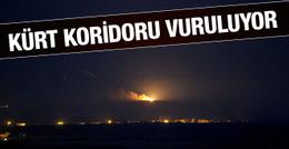 Cerablus operasyonu Kürt Koridoru bombalanıyor.