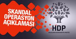 HDP'den skandal Cerablus operasyonu açıklaması